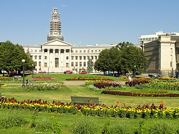 English: City and County Building (under repai...
