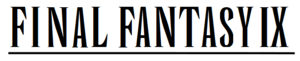 English: Final Fantasy wordmark created using ...