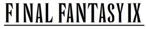 English: Final Fantasy wordmark created using ...