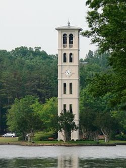 Bell Tower at Furman University, Greenville, S...