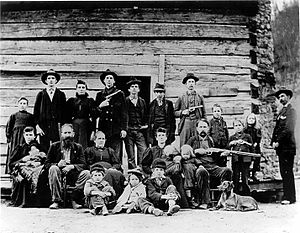 The Hatfield Clan of the Hatfield-McCoy-feud.