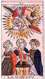 Il Cupido dei Tarocchi come puer aeternus
