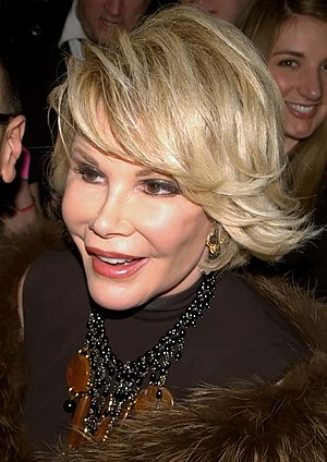 English: Joan Rivers at Musto's 25th Anniversary.