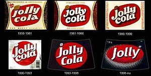 Jolly etiketter gennem tiden