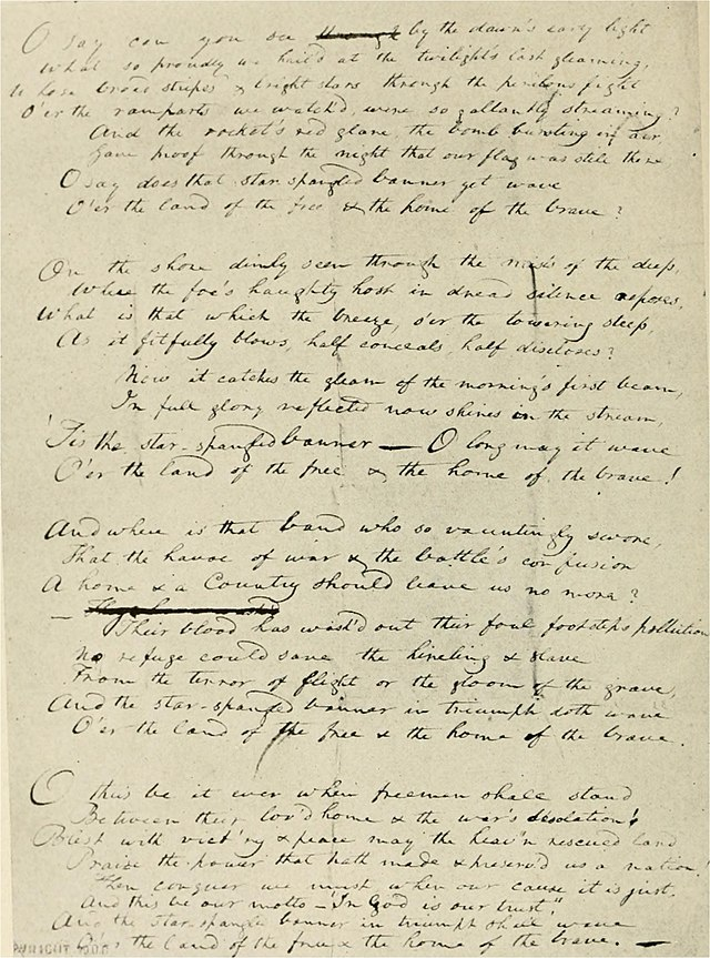 September 16 1814: Francis Scott Key and An American Anthem | pastnow
