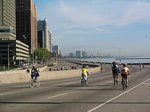 English: Streeterville portion of Lake Shore D...