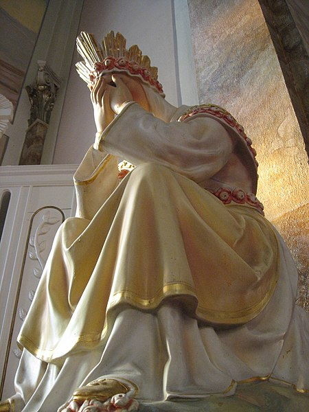 File:Our Lady of La Salette (crying).jpg