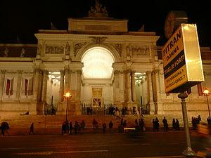 Palazzo delle esposizioni in Rome