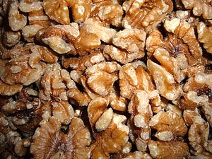 Shelled walnuts (unknown which specific variety)