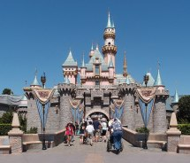 Disneyland California Castle