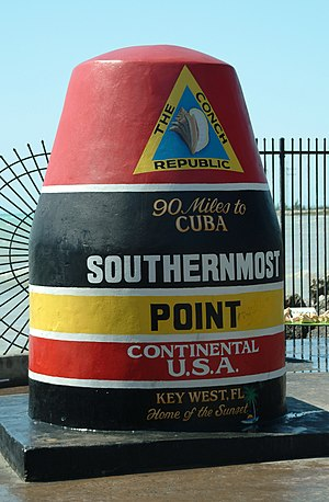 Southernmost Point of the U.S., Key West, FL