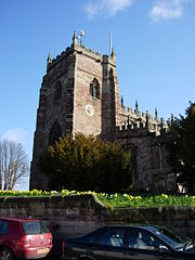 St Oswalds Church Malpas  Wikipedia