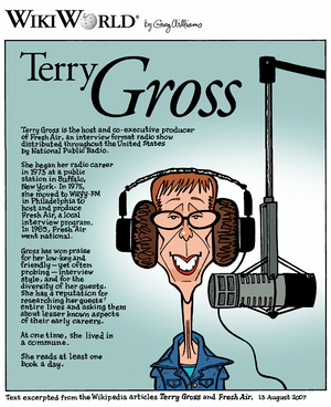 Terry Gross WikiWorld