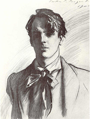 en: Portrait of William Butler Yeats by John S...