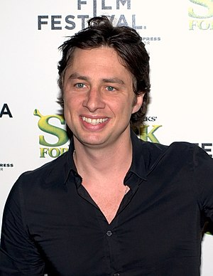 English: Zach Braff at Tribeca Film Festival 2010