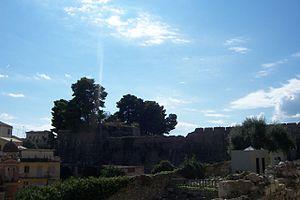 Νέο Φρούριο. Έξω μέρη