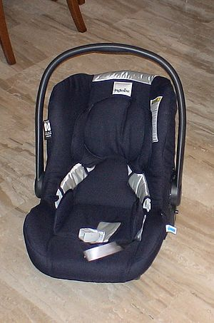 Inglesina 3-in-1 stroller without the chassis