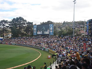 View of Hill at Bellerive Oval
