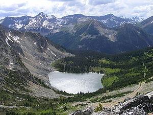 Blowdown Lake, Stein Valley Nlaka'pamux Herita...