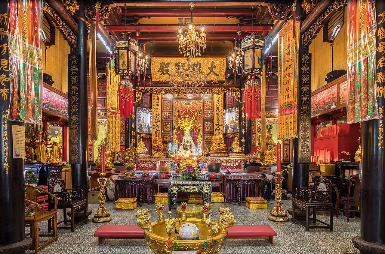 Chinese Interior Temple