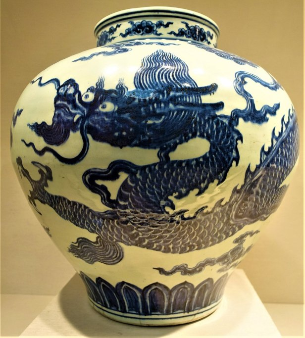 Jar with Dragon - MET - Joy of Museums