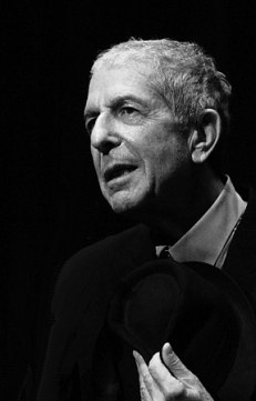 Leonard Cohen, during the Geneva concert of th...