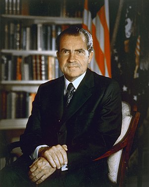 Richard Nixon, Official Presidential Photograph