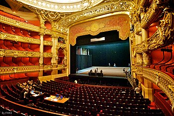 proscenium stage diagram box wiring for honeywell thermostat theater structure wikipedia the interior of palais garnier showing and auditorium