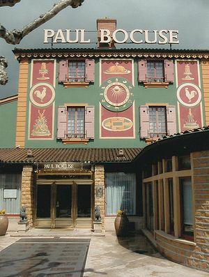 Deutsch: Restaurant Paul Bocuse in Collonges a...