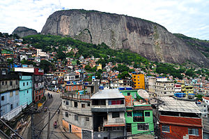 Rocinha favela Rio de Janeiro 2010