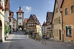 Rothenburg ob der Tauber, the place is called ...