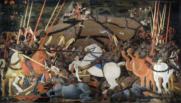 Uccello Battle of San Romano Uffizi