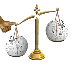 Wikipedia scale of justice 1