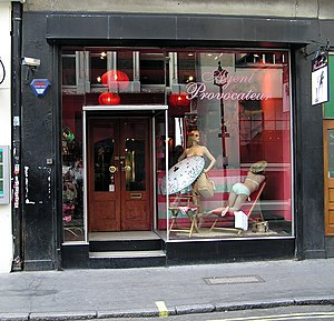 Agent Provocateur in Broadwick Street, Soho, L...