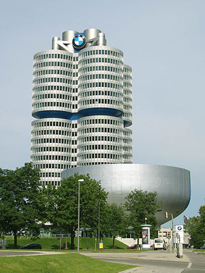 English: BMW Head Quarters in Munich Germany. ...