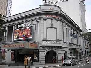 The Coliseum Cinema, Kuala Lumpur, Malaysia. T...