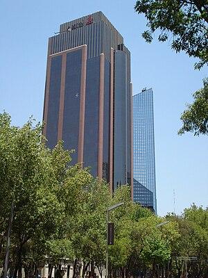 Español: Edificio Reforma 265 ubicado en Paseo...