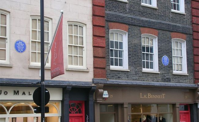 File Hendrix And Handel Houses Brook Street Jpg