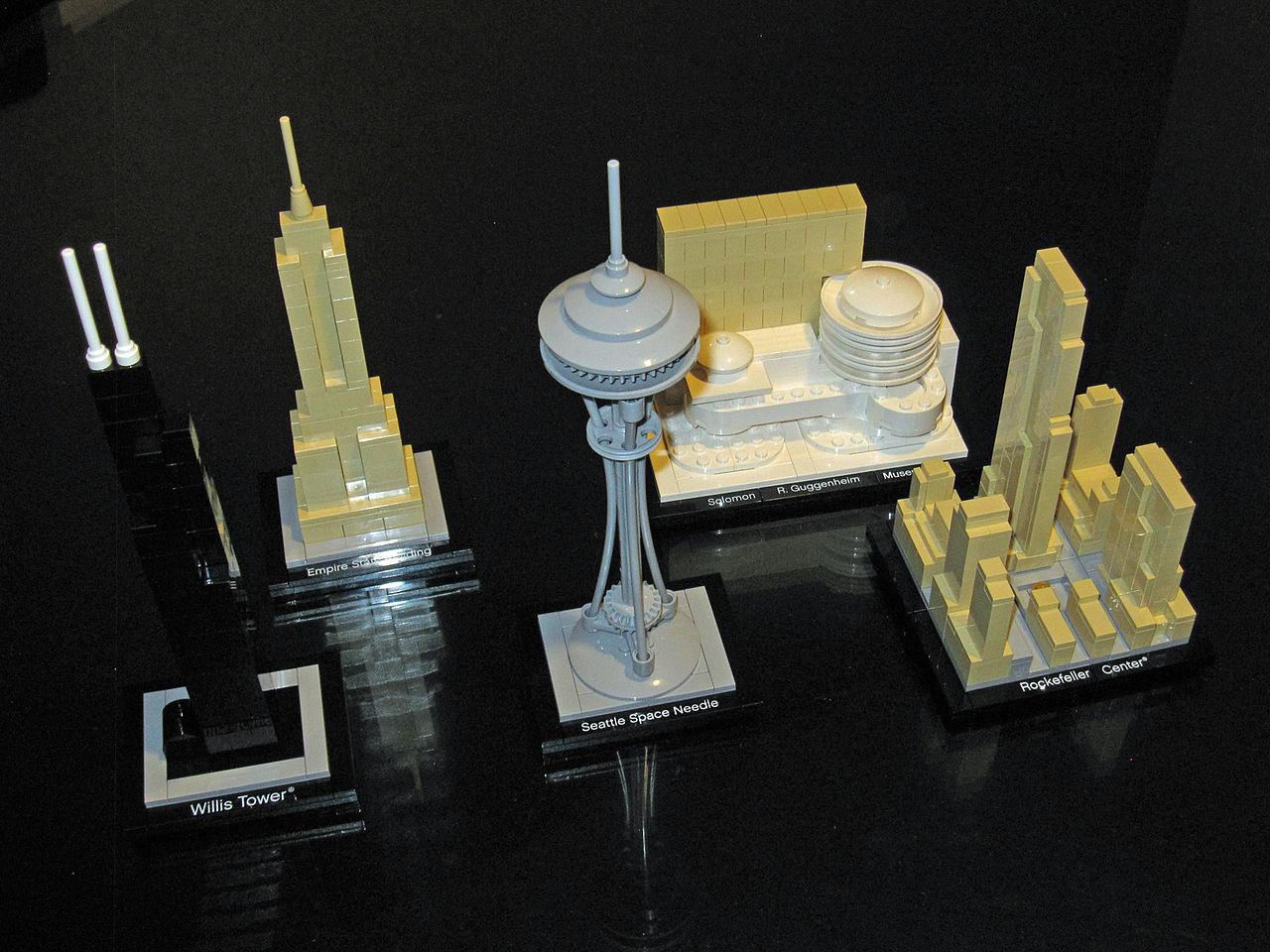 FileLego Architecture  Sets 21000 21002 21003 21004