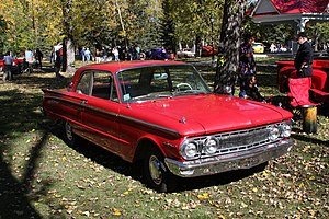 1960-1963 Mercury Comet 2 door Coupe.