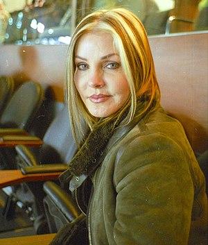 English: Photo of Priscilla Presley at Chicago...