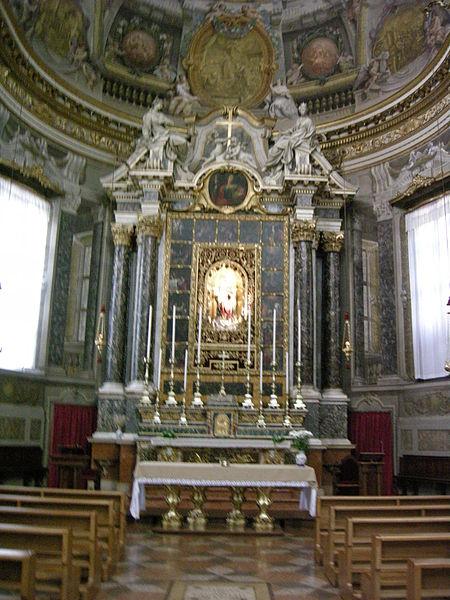 Plik: San Domenico, Bolonia, Różaniec Chapel 02.JPG