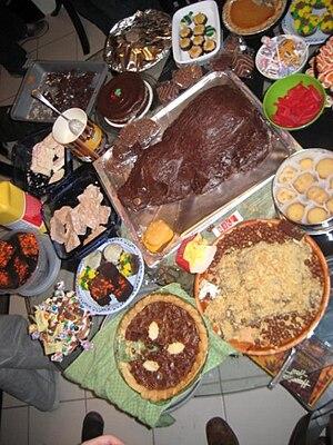 English: Feast!