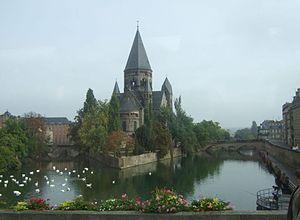 Temple Neuf von Metz