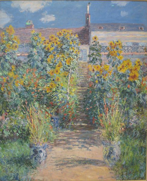 File:The Artist's garden at Vetheuil by Claude Monet.jpg