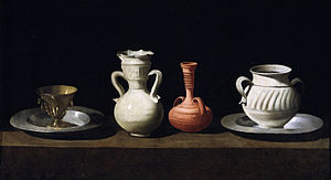 Francisco de Zurbarán, Bodegón or Still Life w...