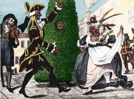 « Jack in the Green » danse avec le roi et la reine de mai au 18e siècle à Londres