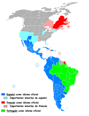 English: Latin America. Español: Latinoamérica.