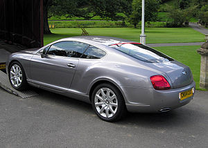 Bentley Continental GT 2004.