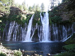 Blue Nile Falls Wallpaper Burney Falls Wikipedia